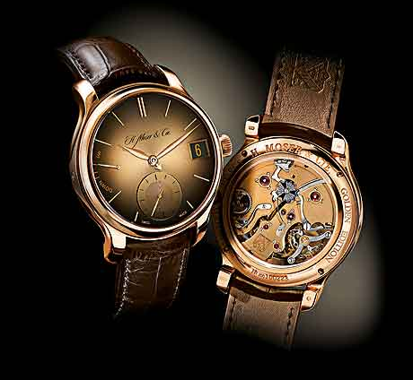 H. Moser & Cie. Perpetual 1 Golden Edition