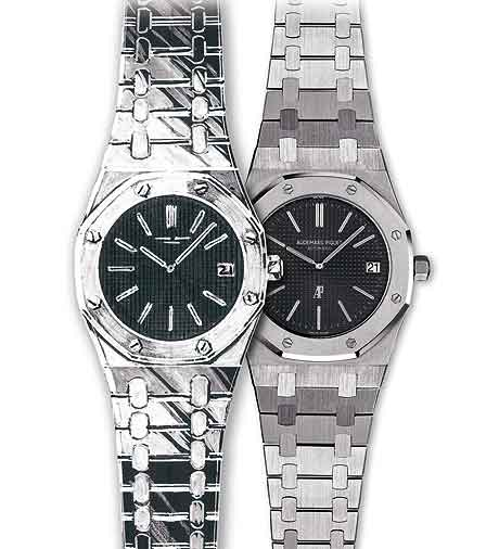 two watch piguet watches quartz glod tone royal oak audemars tradesy i