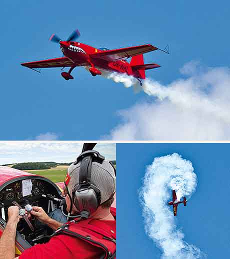 Breitling Chrono GMT Test Aerobatics