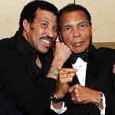 Muhammad Ali and Lionel Richie