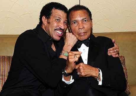 Muhammad Ali w/ Lionel Richie