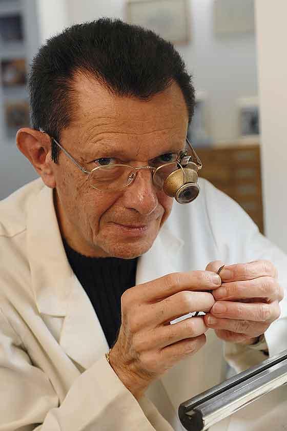 Watchmaker Dominique Loiseau