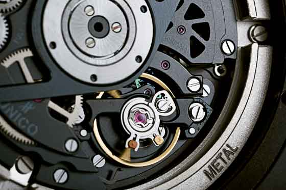 Hublot King Power Unico All Black detail/balance