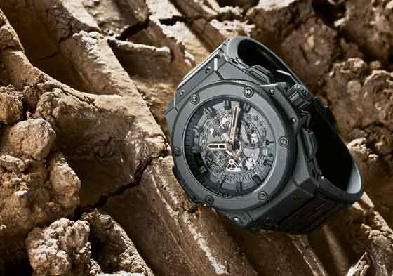 Hublot King Power Unico All Black