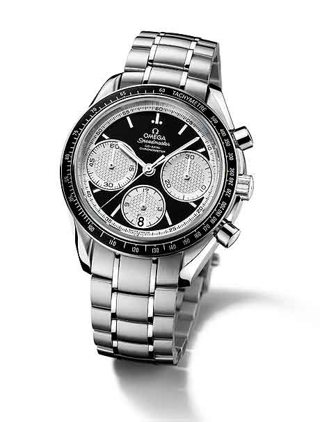 Omega Speedmaster Racing on bracelet