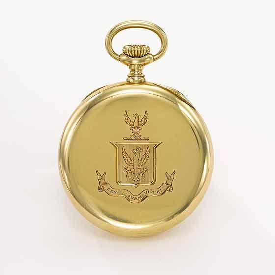 Patek Philippe Graves PocketWatch back