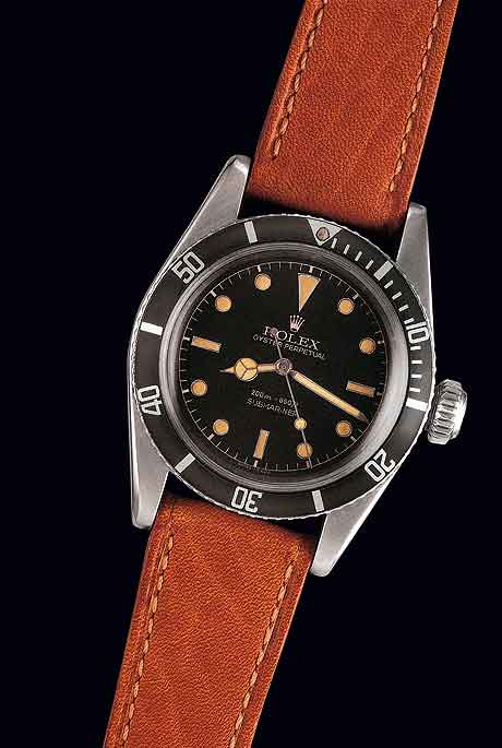Rolex James Bond Submariner Ref. 6536