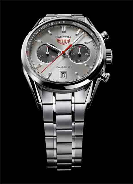 TAG Heuer Carrera Calibre 17 Jack Heuer 80th, bracelet