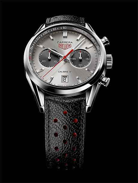 TAG Heuer Carrera Calibre 17 Jack Heuer 80th, strap