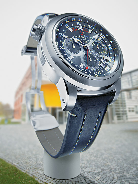 Big Time - Carl F. Bucherer Patravi TravelTec GMT