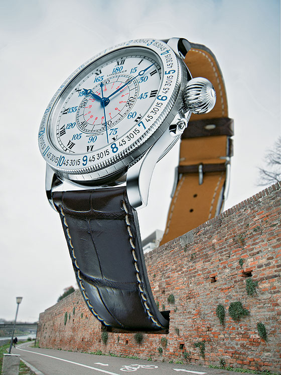 Big Time - Longines Lindbergh Hour Angle