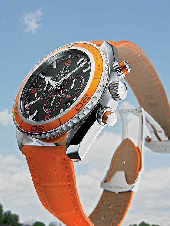 Big Time - Omega Seamaster Planet Ocean Chrono