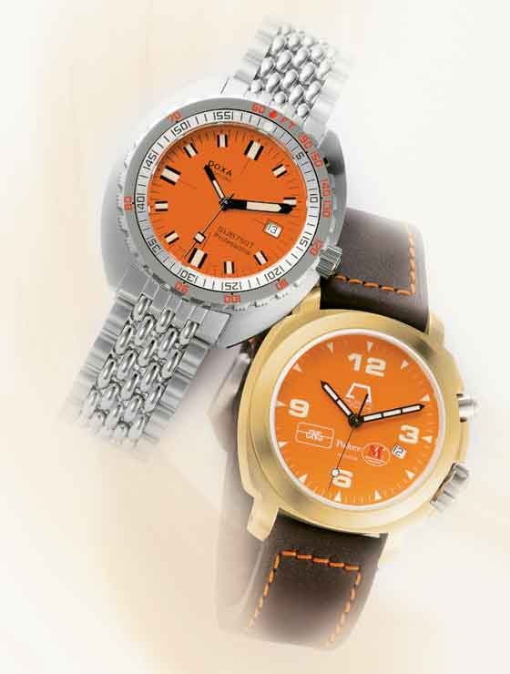 Doxa SUB 750T and Anonimo Polluce 2003