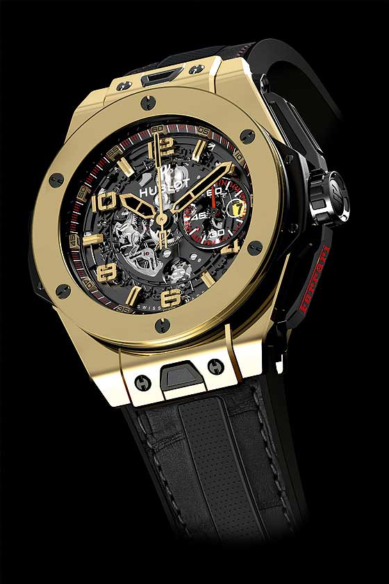 Hublot Big Bang Ferrari Magic Gold