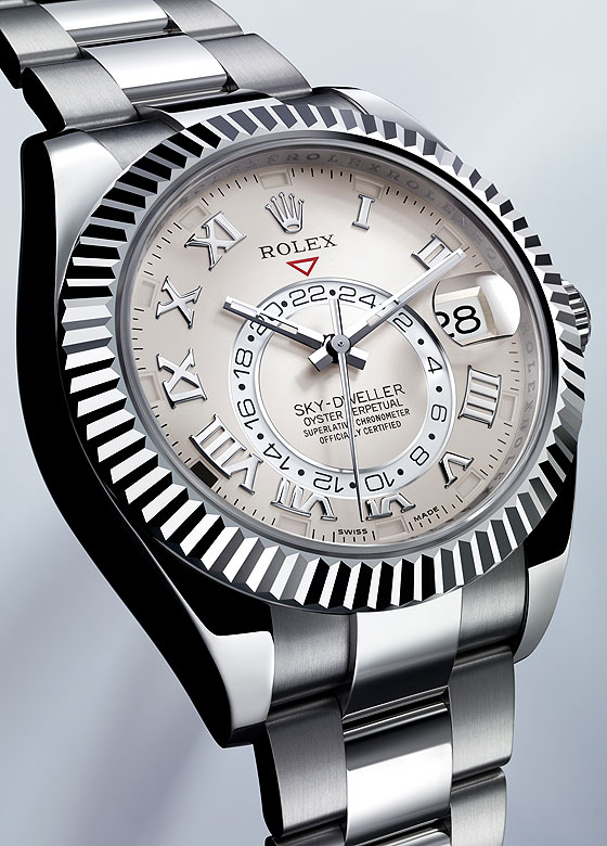 Rolex Sky-Dweller White Gold profile