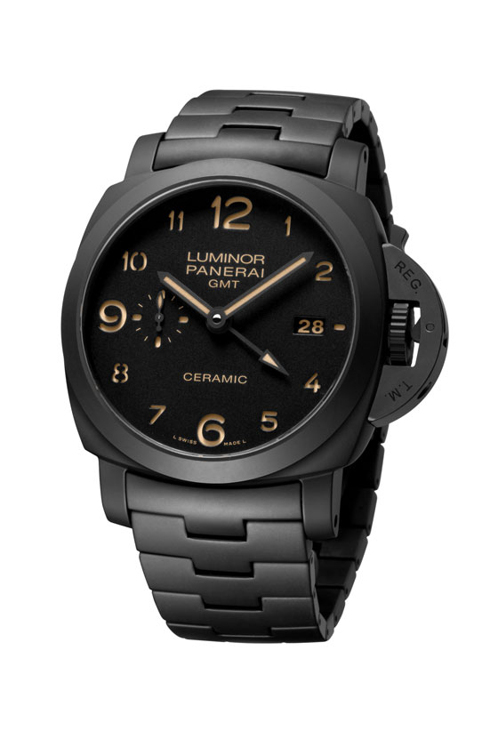 Panerai Tuttonero Luminor 1950 GMT Ceramica