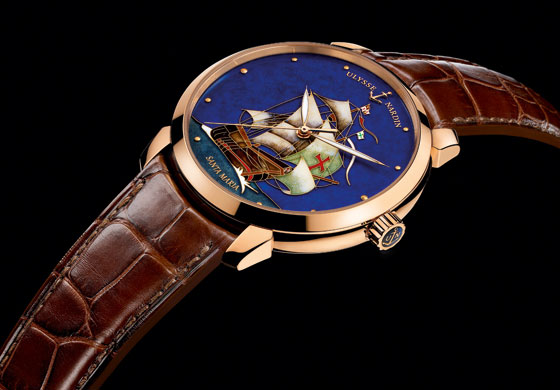 Ulysse Nardin Classico Limited Edition Santa Maria rose gold-mood