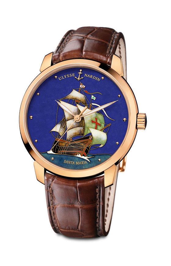 Ulysse Nardin Classico Limited Edition Santa Maria rose gold