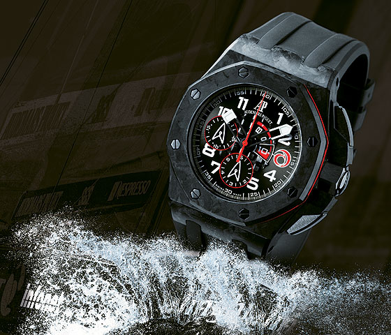 www.watchtime.com | watch wallpaper wristwatch industry news  | Watch Wallpaper: Limited Edition Sports Chronographs | AP Alinghi 560