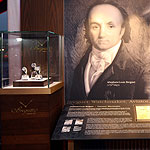 A-L Breguet display with watches