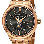 Carl F Bucherer ManeroMoonPhase rose gold bracelet