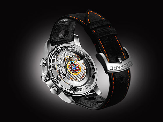 www.watchtime.com | watches wristwatch industry news  | Chopards Grand Prix de Monaco Historique Watch Inspired by 70s Racecars | Chopard Grand Prix de Monaco Historique back 560