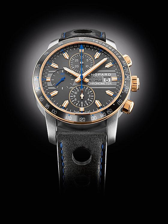 Chopard Grand Prix de Monaco Historique titanium-gold case