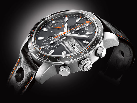 Chopard Grand Prix de Monaco Historique titanium-side