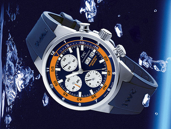 www.watchtime.com | watch wallpaper wristwatch industry news  | Watch Wallpaper: Limited Edition Sports Chronographs | IWC AquatimerChrono 560