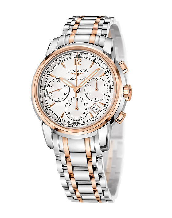 Longines Saint-Imier Chronograph two-tone steel/gold