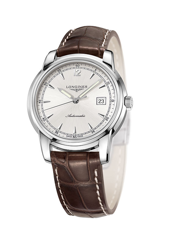 Longines St.-Imier Three-Hand Date Silver Dial