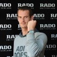 Rado ambassador Andy Murray