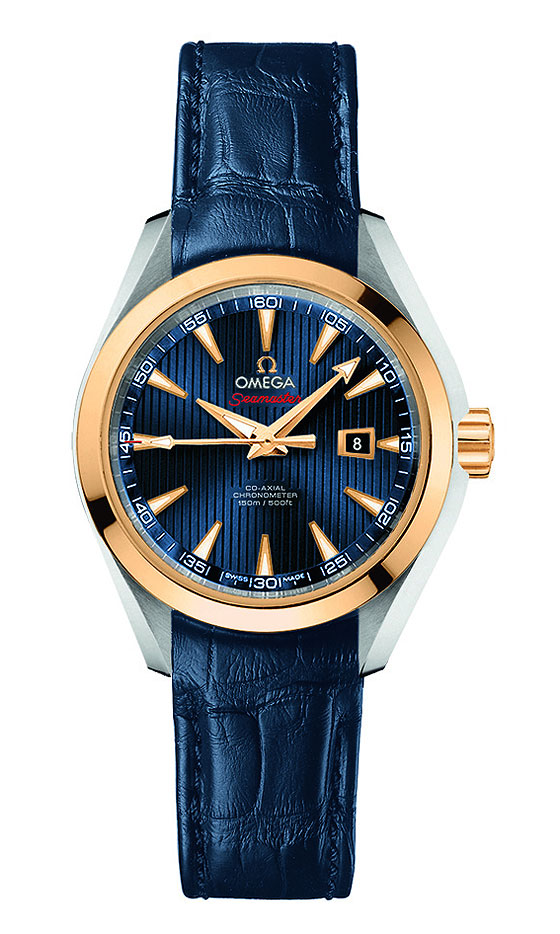 www.watchtime.com | watches wristwatch industry news  | Omega Releases New Seamaster Watches for London 2012 Olympic Games | Omega Seamaster AT London strap 560