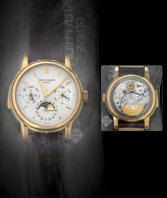 Patek Philippe Ref. 3974 yellow gold