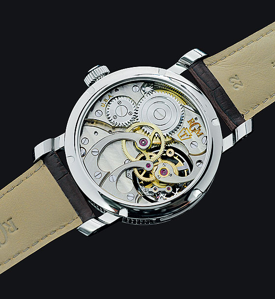RGM Pennsylvania Tourbillon back