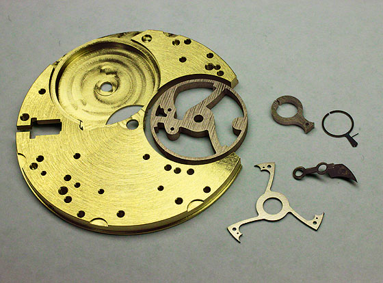 RGM tourbillon parts