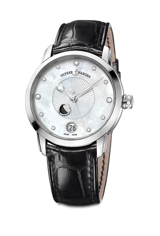 www.watchtime.com | wristwatch industry news industry  | New Moons: Ulysse Nardin Introduces Classico Luna Collection | UN ClassicoLadyLuna 560