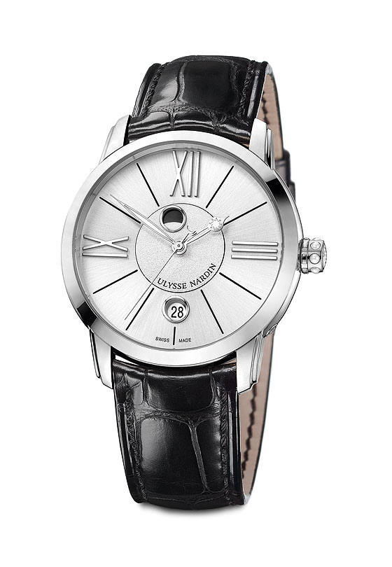 www.watchtime.com | wristwatch industry news industry  | New Moons: Ulysse Nardin Introduces Classico Luna Collection | UN ClassicoLuna strap 560
