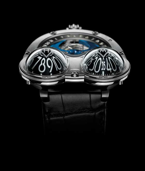 MB&F HM3 MoonMachine black titanium/domes