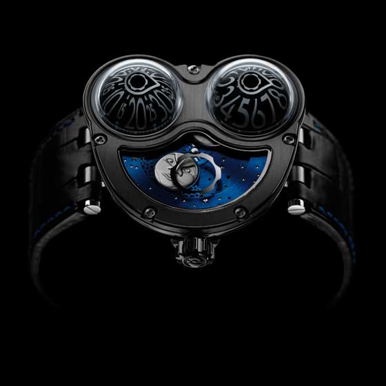 MB&F HM3 MoonMachine black titanium