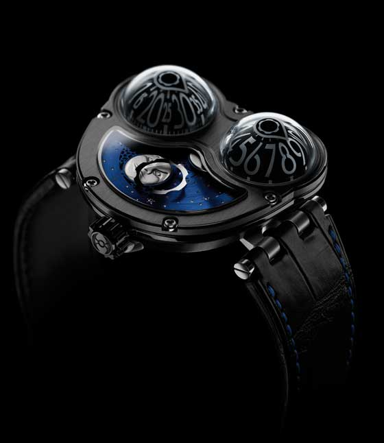 MB&F HM3 MoonMachine black titanium/profile