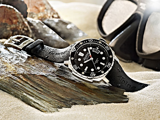 Alpina Divers watch