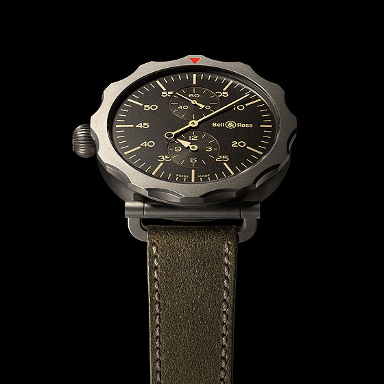 Bell & Ross Vintage WW2 Regulateur black