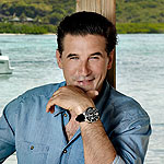 Billy Baldwin wearing Alpina Diver