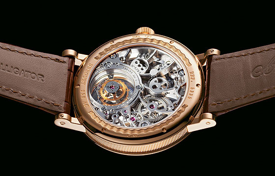 Breguet Tourbillon Messidor, back