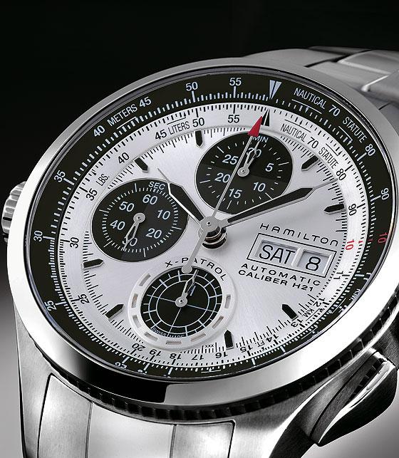 Hamilton Khaki X-Patrol white dial bracelet CU
