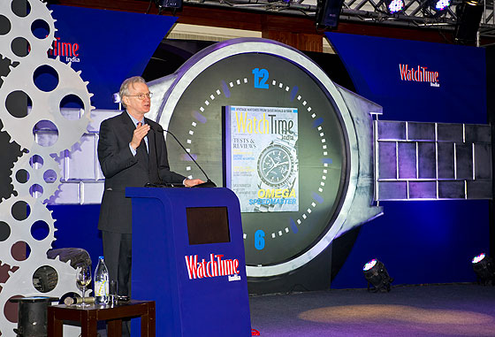 Joe Thompson at WatchTime India launch, Delhi