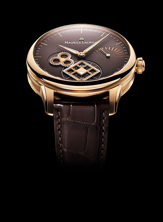 Maurice Lacroix Roue Carree Seconde rose gold