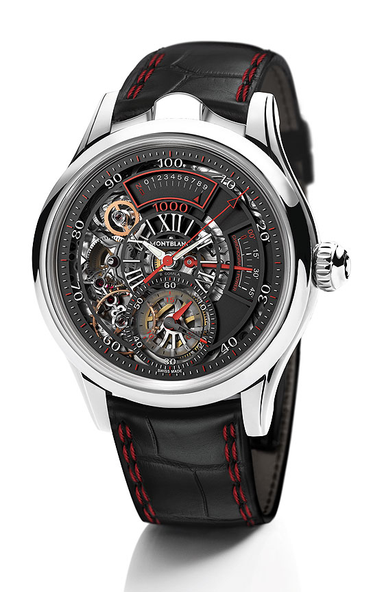 Montblanc TimeWriter II Bi-Frequence front
