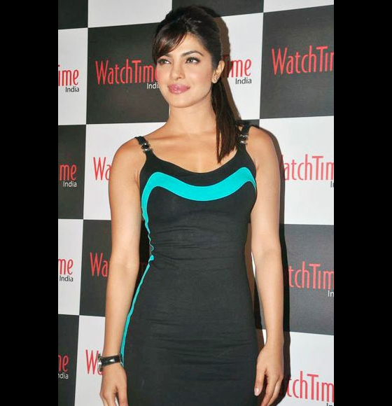Priyanka Chopra at WatchTime India launch party, Mumbai